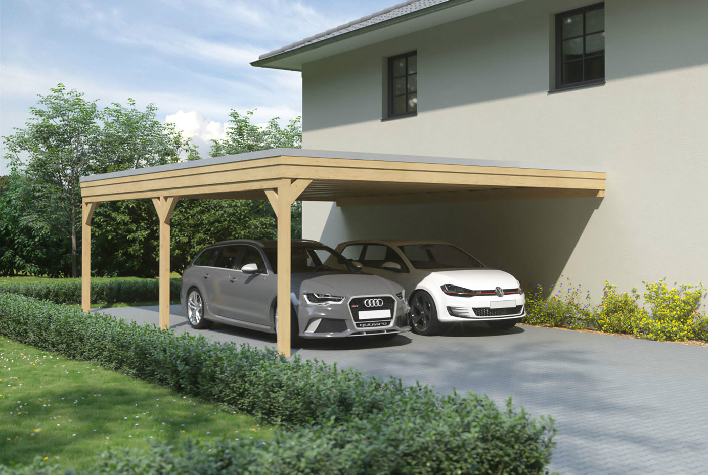 bausatz fr carport beautiful bausatz herrlich carport mit satteldach referenzen fr carports von. Black Bedroom Furniture Sets. Home Design Ideas