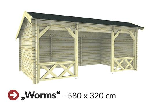 Gartenhaus ´Worms´